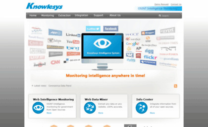 Knowlesys com website  【Web Intelligence Monitoring】○Knowlesys is