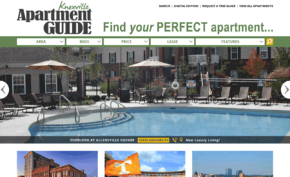 Knoxapts Com Website Apartments For Rent In Knoxville Tn