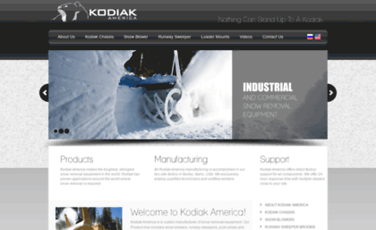 Kodiakamerica us website  Kodiak America | Industrial & Commercial