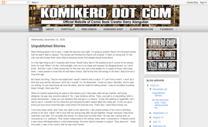 Komikero Website KOMIKERO DOT COM