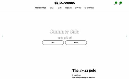 3f7724b396 Lamartina.com website. La Martina