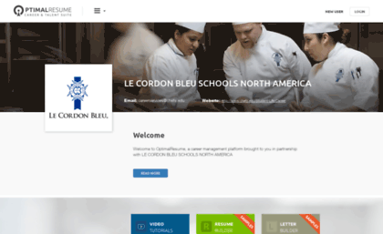 lecordonbleuoptimalresumecom - Optimal Resume Le Cordon Bleu