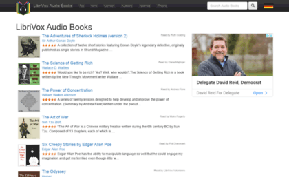 Librivox bookdesign biz website  LibriVox Audio Books Catalog