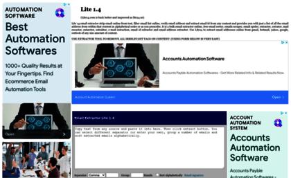 Lite14 us website  Lite1 4 Email Extractor | Lite 1 4