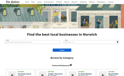 cddceef88a Local.norwichbulletin.com website. The Bulletin Business Directory ...