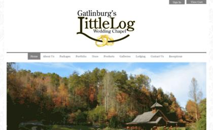 Logchapel Com Website Home Gatlinburg S Little Log
