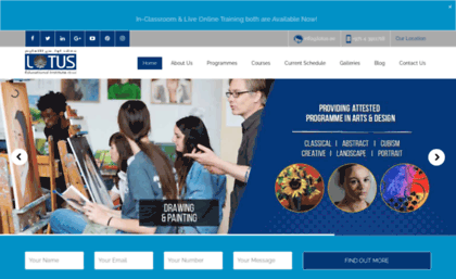 Strange Lotus Ae Website Art Schools And Courses In Dubai Art Beutiful Home Inspiration Truamahrainfo