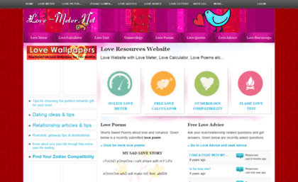 love meter calculator online