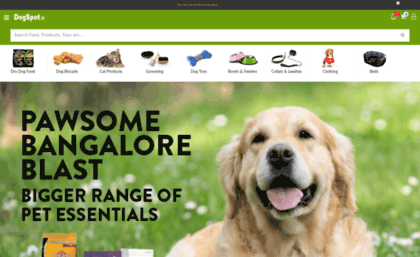 M dogspot in website  DogSpot in-Online Pet Supplies Store