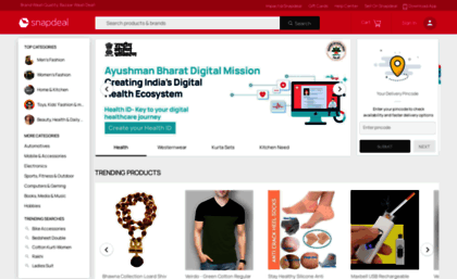 0f1670b2910 M.snapdeal.com website. Online Shopping Site India - Shop ...