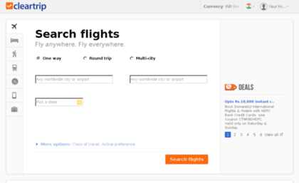 Mailinglist cleartrip com website  #1 Site for Booking
