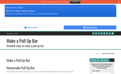 d18e931369c Makeapullupbar.com website. Make a Pull Up Bar - Improve Strength ...