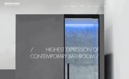 Vasca Da Bagno Makro : Makro website makro bathroom concepts