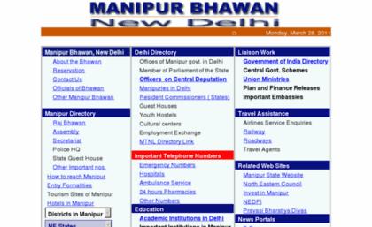 Manipurbhawan nic in website  403 - Forbidden: Access is
