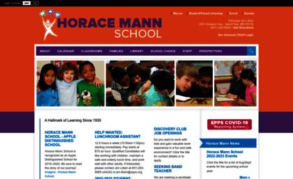 Spps Calendar.Mann Spps Org Website Horace Mann School Homepage