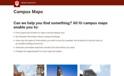 Map Iu Edu Website Campus Maps Indiana University