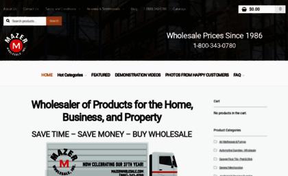 Mazerwholesale Com Website Wholesaler Hardware Housewares Tools