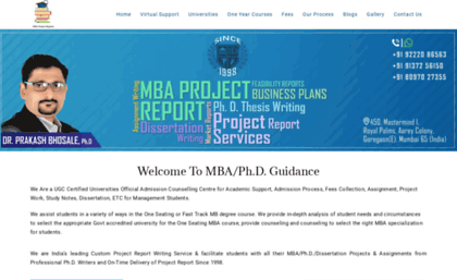 Mbaprojectreports.com website. MBA Marketing Project Writing in mumbai | MBA  HR Project Writing in Mumbai | MBA....