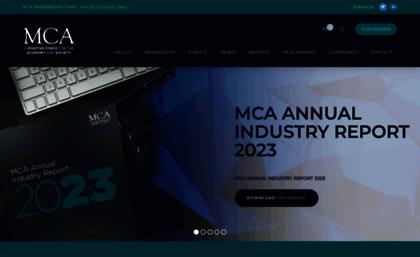 Mca org uk website  MCA
