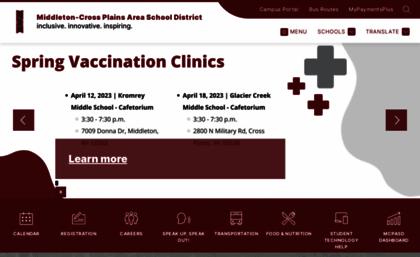 Mcpasd K12 Wi Us Website Welcome To Middleton Cross Plains Area