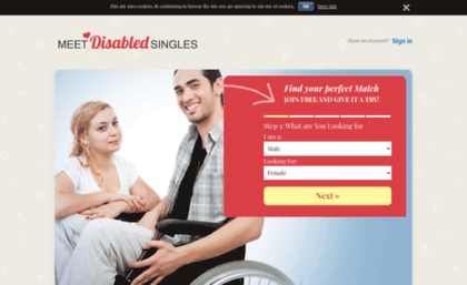 Free dating sites for disabled singles websites