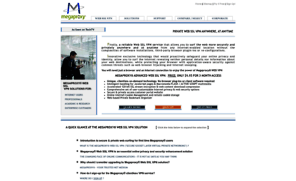 Megaproxy com website  Megaproxy® Anonymous proxy - Secure