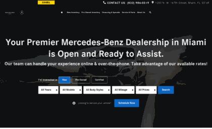 Mercedesbenzofmiami.com
