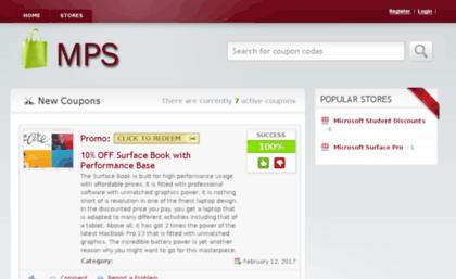 Microsoftpromocodestore com website  Microsoft Store Promo Code