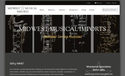 Mmimports com website  Oboes, Bassoons, Clarinets