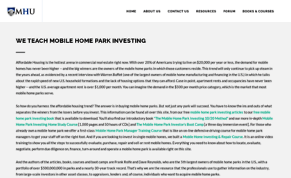 Mobilehomeuniversity Website The 1 Source To Learn Mobile