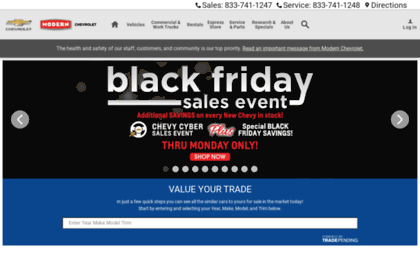 Modern Chevrolet Winston Salem Nc >> Modernchevy Com Website Modern Chevrolet Chevy Dealership
