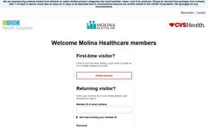 Molina otchs com website  OTCHS Login - Molina Healthcare