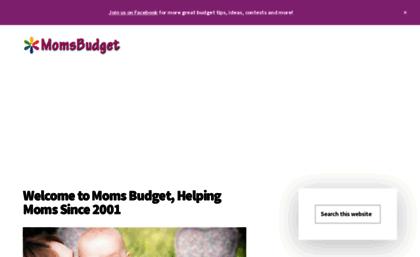 momsbudget com website mom s budget personal finance budgeting