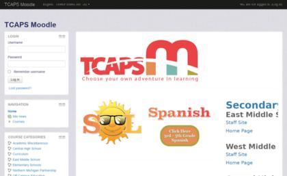 tcaps moodle Moodle.tcaps.net website. TCAPS Moodle.