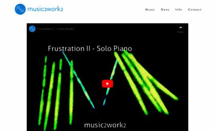 Music2work2 com website  Music to Work to: Instrumental