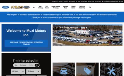 Ford Dealers Ma >> Muziford Com Website Muzi Ford Needham Ma New Used Ford