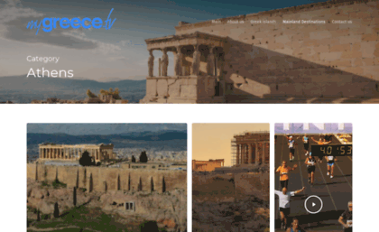 Myathens tv website  Home | city of Athens
