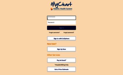 Mychart Atlantic Health Picshealth