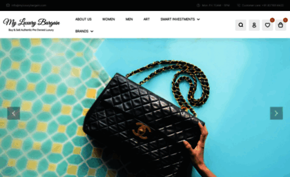 db5cac9d3ca7 ... pre-owned luxury handbags and other fashion accessories online in India.  Buy... myluxurybargain.com