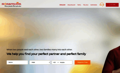 Mysite m4marry com website  Malayalee Brides And Grooms