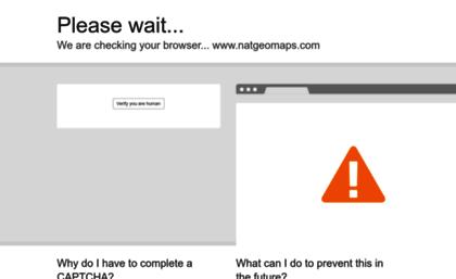Natgeomaps com website  National Geographic Maps