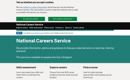 Nationalcareersservice website careers advice job nationalcareersservice yelopaper Images