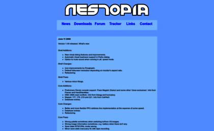 Nestopia sourceforge net website  Nestopia - NES/Famicom