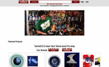 Newtechtennis com website  New Tech Tennis