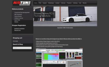 Nistune com website  Home