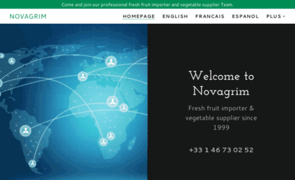 Novagrim com website  NOVAGRIM - Fresh Fruit Importer