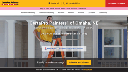 Omaha certapro com website  CertaPro Painters® of Omaha