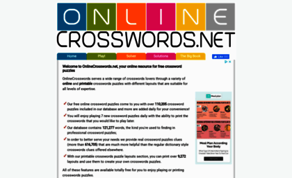 picture regarding Onlinecrosswords Net Printable Daily called web. - Free of charge