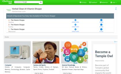 Onlinegk co website