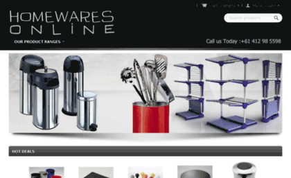 Onlinehomeware com au website  Clothes Airer | Coffee Accessories